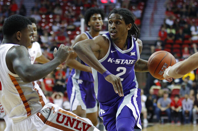 Kansas State topples UNLV 60-56 in overtime