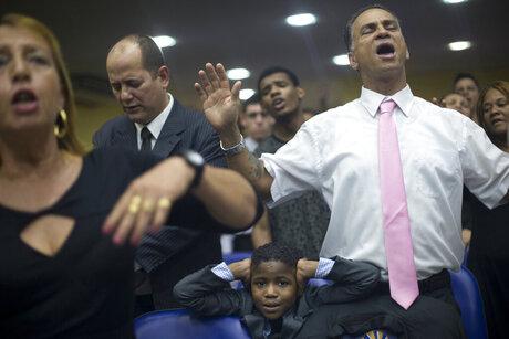 APTOPIX Brazil Gay Pentecostals