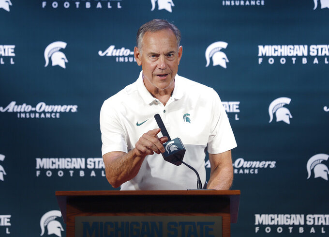 Dantonio keeps offensive changes under wraps at media day