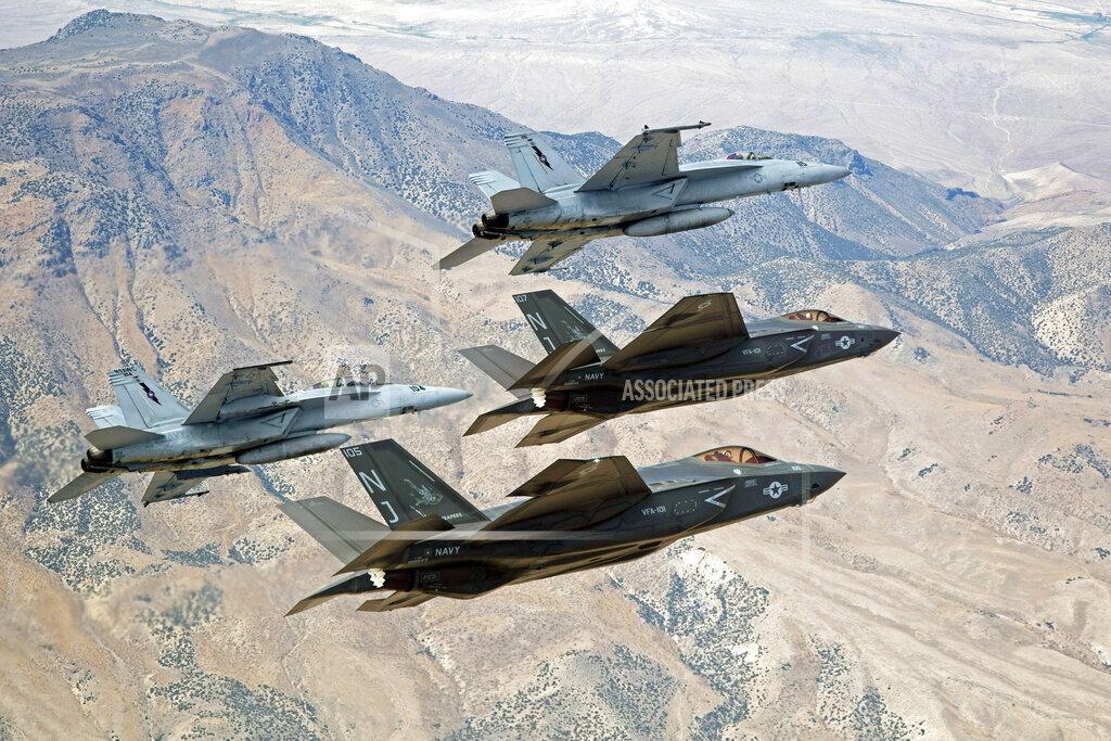 Navy Bombing Range Nevada