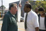 This image released by 101 Studios shows Tom Wilkinson, left, and Forest Whitaker in a scene from