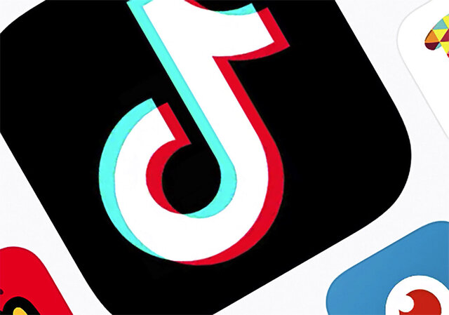 FILE - This Feb. 25, 2020, file photo, shows the icon for TikTok in New York. TikTok asked a judge to block the Trump Administration's attempt to ban its app, suggesting the Chinese-owned app's deal with Oracle and Walmart remains unsettled. An app-store ban, delayed once by the government, is set to go into effect Sunday, Sept. 27, 2020. (AP Photo/File)