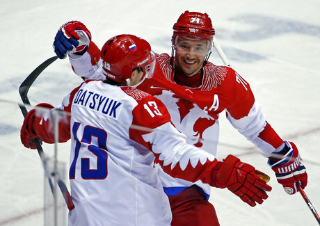 Russia Ice Hockey Russian Roster