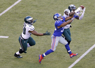 APTOPIX Eagles Giants Football