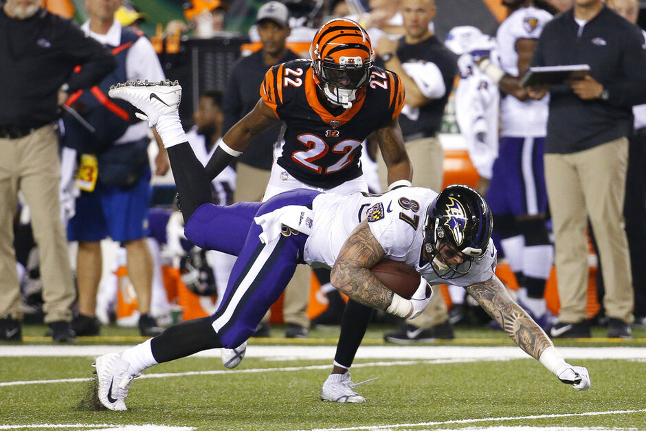 Ravens Bengals Football