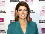 FILE - In this May 6, 2019, file photo, Norah O'Donnell attends the Matrix Awards at the Sheraton New York Times Square in New York. CBS News is making changes with its evening newscast, and the first happens on Monday, July 15, 2019, when Norah O'Donnell takes over as anchor. The second comes in the fall, when the network pulls up stakes from its New York headquarters and moves into a new studio in Washington.(Photo by Andy Kropa/Invision/AP, File)