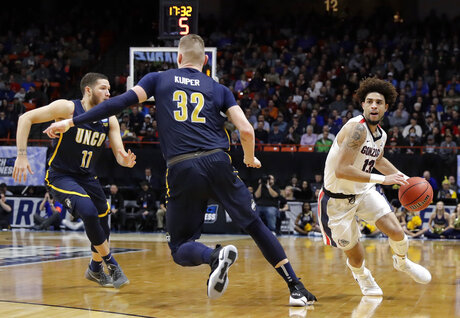 NCAA UNC Greensboro Gonzaga Basketball