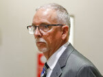 FILE - In this June 26, 2019, file photo, UCLA gynecologist James Heaps appears in Los Angeles Superior Court. The number of complaints against California physicians for sexual misconduct has risen 62% since 2017, a jump that coincides with the beginning of the #MeToo movement. A Los Angeles Times analysis reveals complaints of sexual misconduct, though small in number, are among the fastest growing type of allegation. In fiscal year 2017-18, 280 complaints were filed against physicians for sexual misconduct, compared with 173 the previous year. (Al Seib/Los Angeles Times via AP, Pool, File)