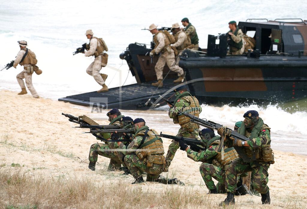 Portugal NATO Trident Juncture