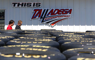 NASCAR Talladega 500 Auto Racing