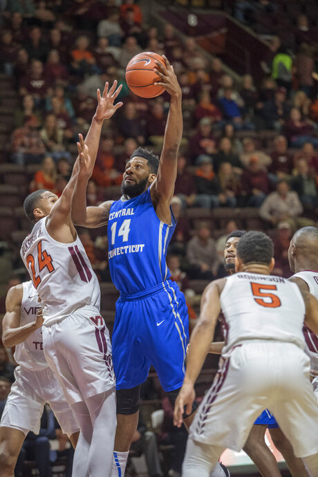 CCSU Virginia Tech Basketball
