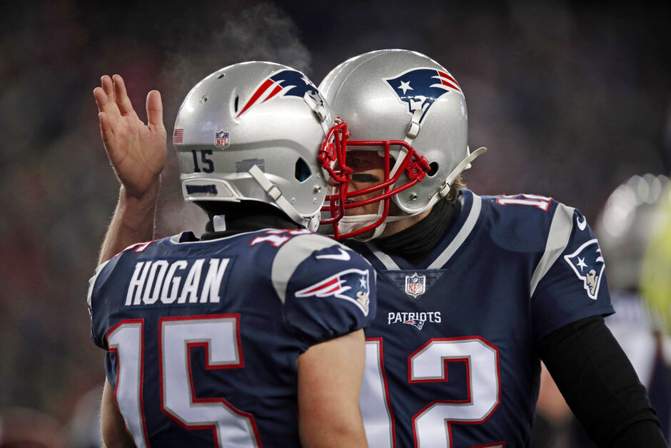 Tom Brady, Chris Hogan