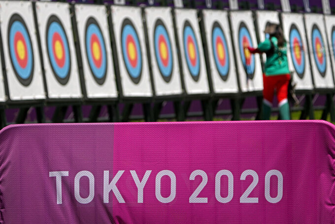 Russian Olympic archer loses consciousness in Tokyo heat
