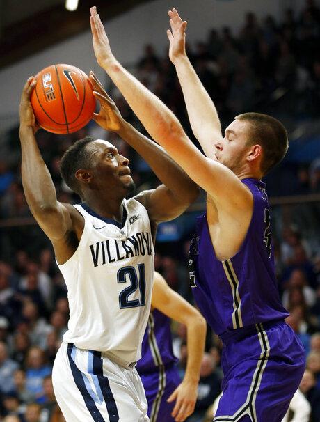Furman Villanova Basketball