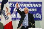 Democratic presidential candidate Sen. Bernie Sanders speaks during a fund-raising fish fry for U.S. Rep. Abby Finkenauer, D-Iowa, Saturday, Nov. 2, 2019, at Hawkeye Downs Expo Center in Cedar Rapids, Iowa. (AP Photo/Charlie Neibergall)
