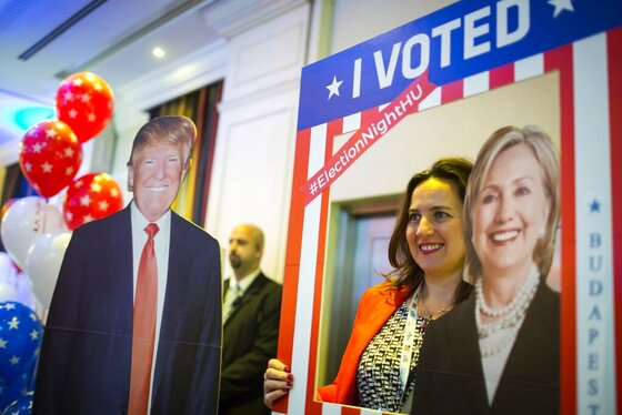 Hungary 2016 US Election