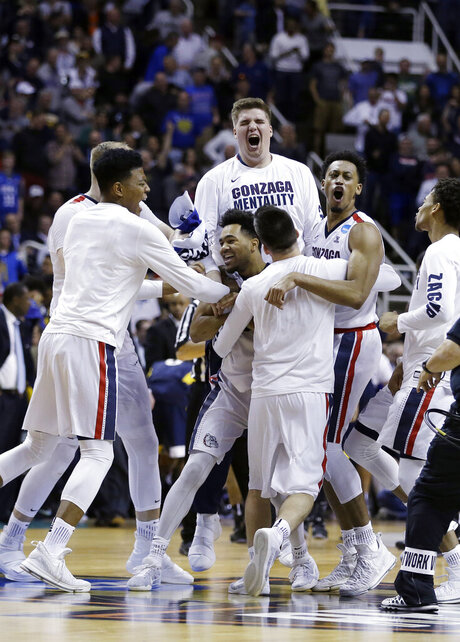 APTOPIX NCAA West Virginia Gonzaga Basketball