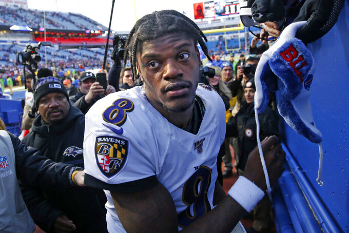 Ravens' Jackson shrugs off leg injury, keeps focus on wins