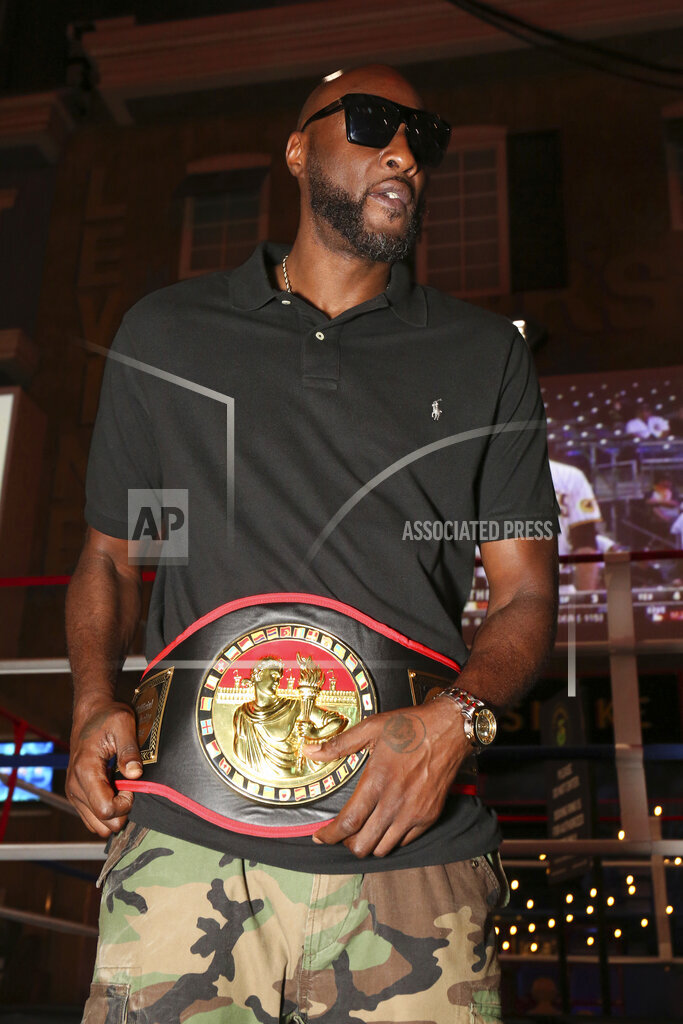 Celebrity Boxing Press Conference