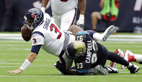 Tom Savage, Calais Campbell