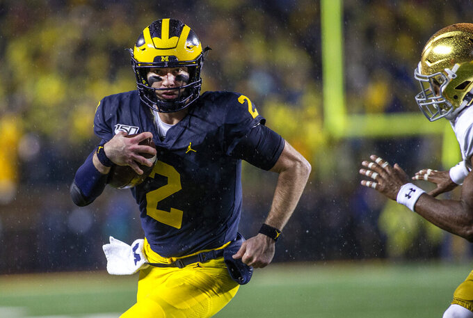 No. 14 Michigan faces skidding Maryland in Big Ten matchup