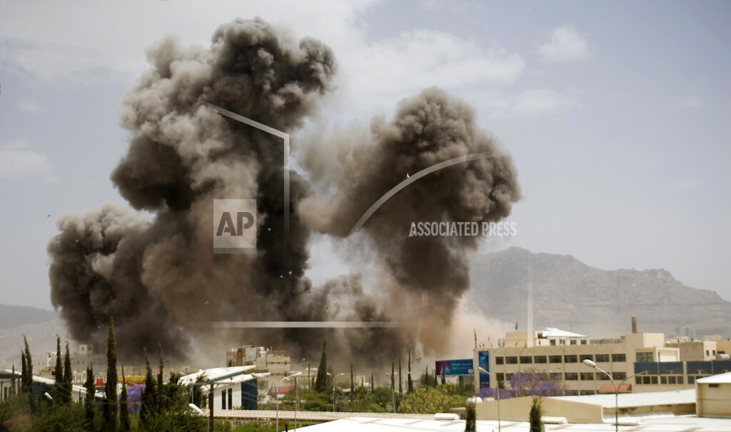 Mideast Saudi Nation at War