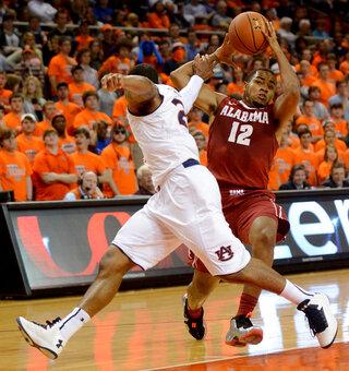 Alabama Auburn Basketball