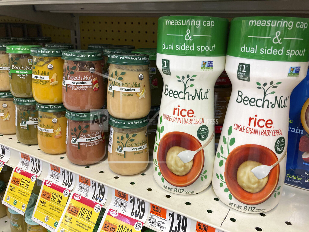 Beech-Nut issues a baby rice cereal recall over arsenic levels
