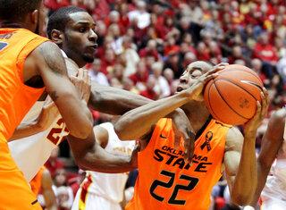 Oklahoma St Iowa St Basketball
