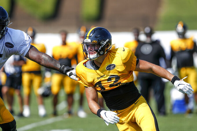 """Time to be an athlete."" Flexibility key for Steeler rookies"