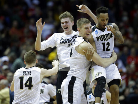 NCAA Purdue Iowa St Basketball