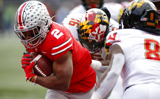 No. 2 Ohio State dominating in way not seen since 1940s