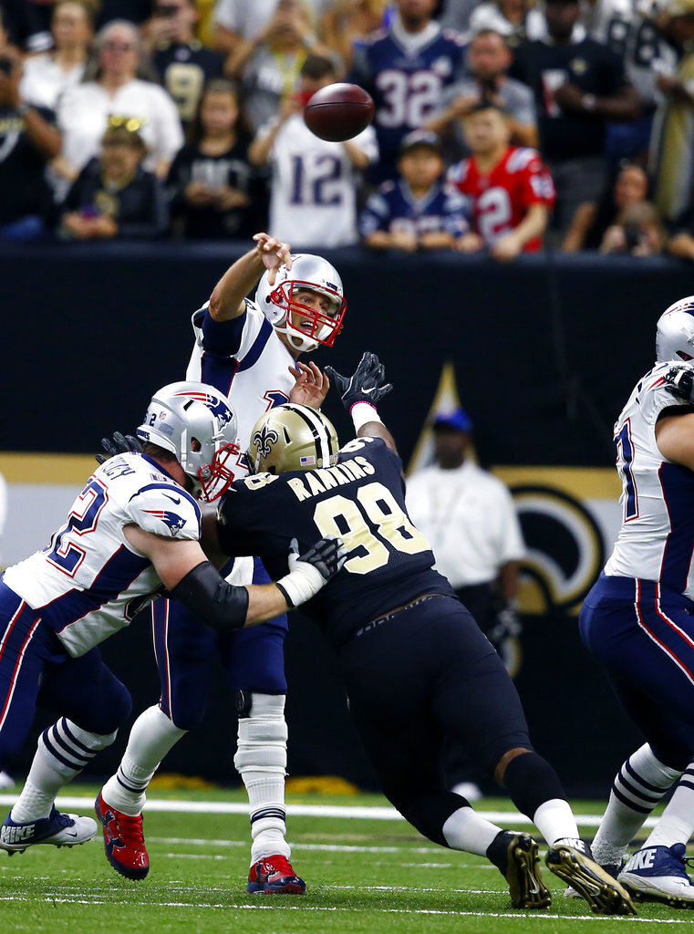 Tom Brady, Sheldon Rankins