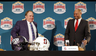 Gary Patterson, David Shaw