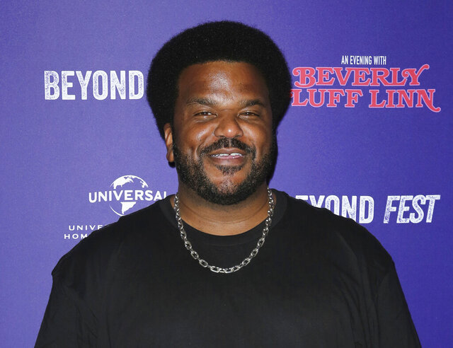 FILE - Craig Robinson attends the premiere of