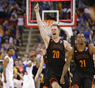 APTOPIX NCAA Mercer Duke Basketball