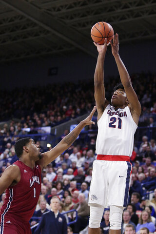 Rui Hachimura, Zafir Williams