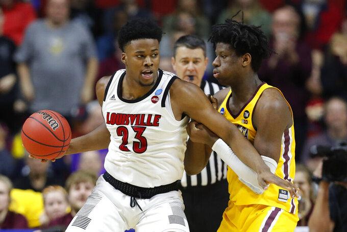 Kalscheur, Gophers knock off Louisville 86-76