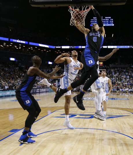 APTOPIX ACC Duke North Carolina Basketball