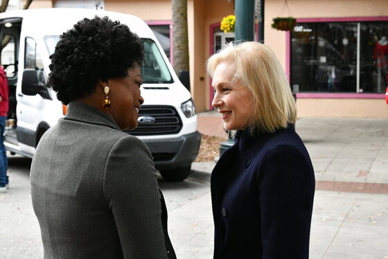 Election 2020 Gillibrand South Carolina