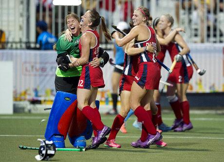 USA Rises Field Hockey Olympics