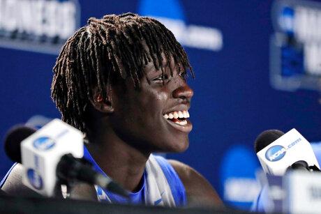 Kentucky Gabriel Draft Basketball
