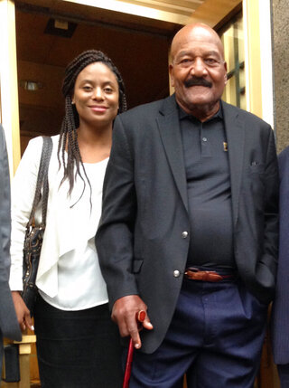 Monique Brown, Jim Brown
