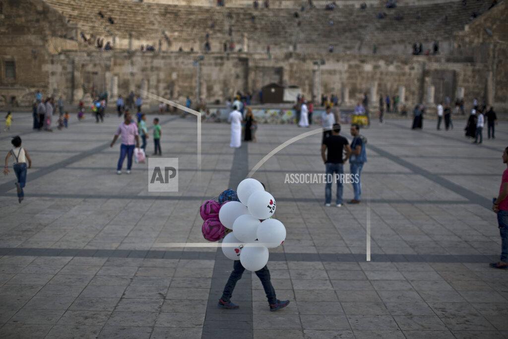 APTOPIX Mideast Jordan Daily Life