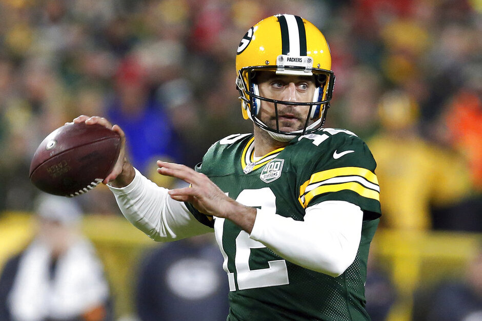Packers Protecting Rodgers Football