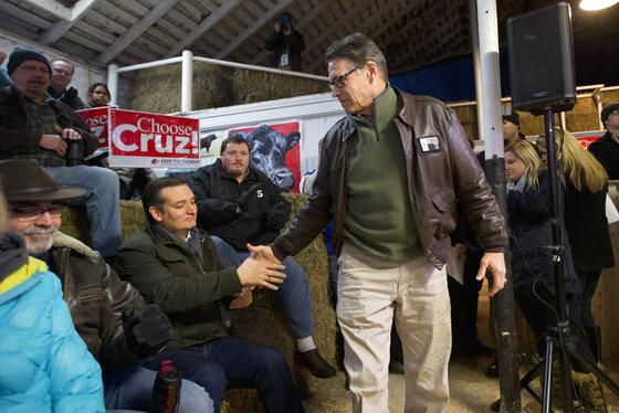 Ted Cruz, Rick Perry