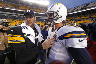 Ben Roethlisberger, Philip Rivers