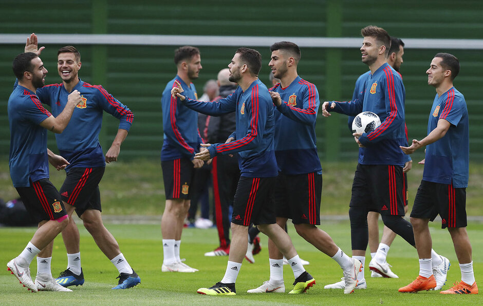 Russia Soccer WCup Spain