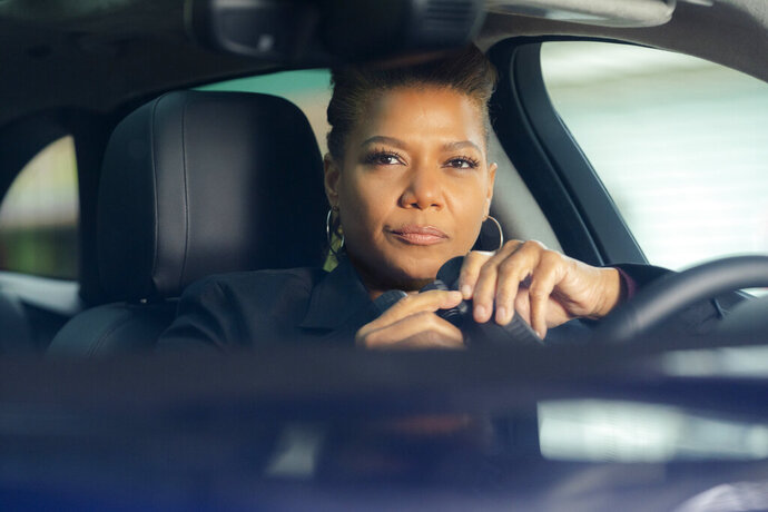 This image released by CBS shows Queen Latifah in a scene from the series
