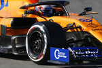 Mclaren driver Carlos Sainz of Spain takes a curve during a Formula One pre-season testing session at the Barcelona Catalunya racetrack in Montmelo, outside Barcelona, Spain, Wednesday, Feb. 27, 2019. (AP Photo/Joan Monfort)